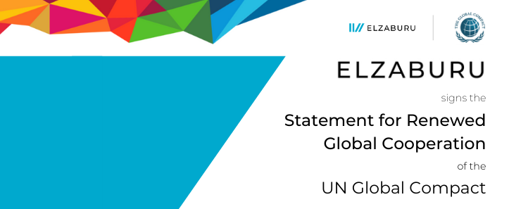 ELZABURU signs the Statement for Renewed Global Cooperation of the UN Global Compact