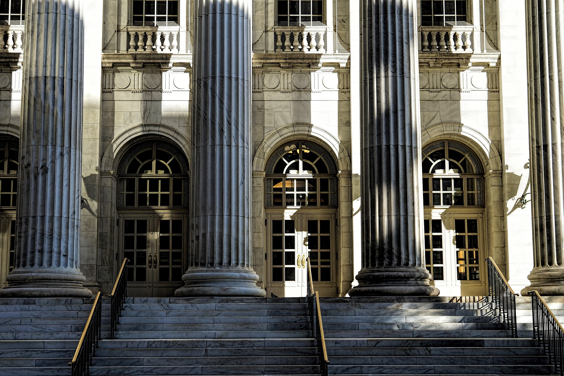 Edificio del palacio de justicia