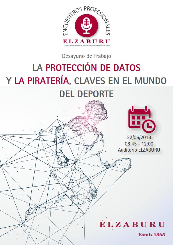 Desayuno de trabajo: La protección de datos y la piratería, claves en el mundo del deporte (Elzaburu), Madrid