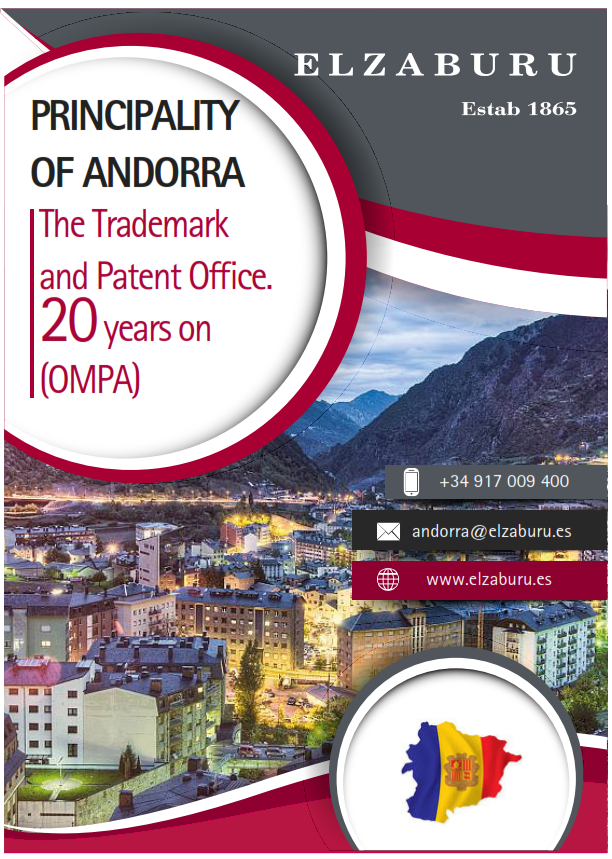 Brochure Andorra: the Trademark and Patent Office, 20 years on
