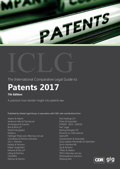 ICLG - The International Comparative Legal Guide to: Patents 2017. Chapter 22 - Spain