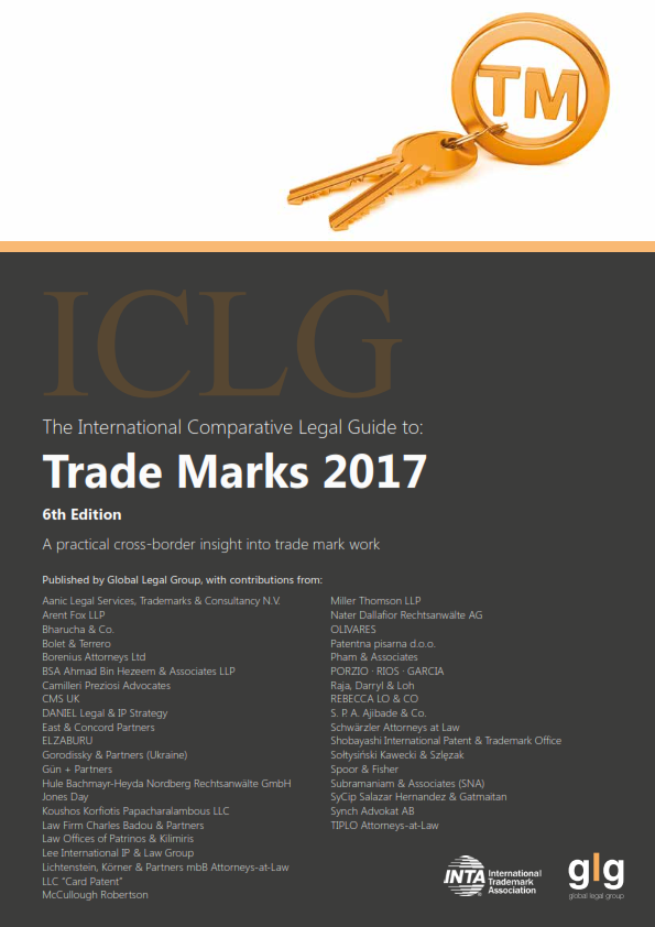 ICLG - The International Comparative Legal Guide to: Trade Marks 2017. Chapter 31 - Spain