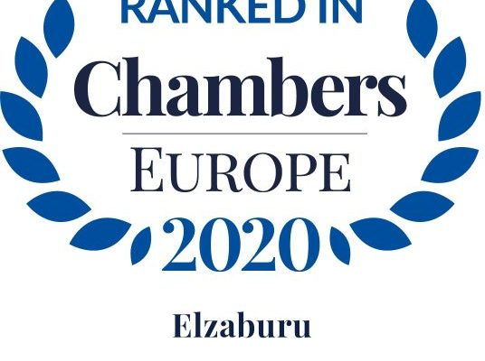 Chambers Top Ranked Europe 2020