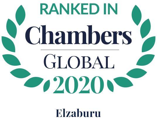 Chambers Top Ranked Global 2020