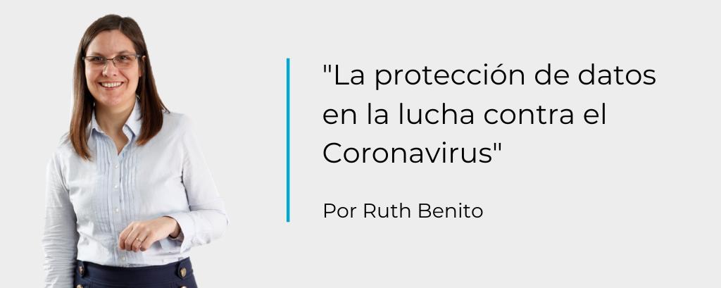 La protección de datos en la lucha contra el coronavirus