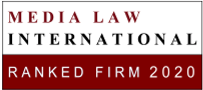 Media Law International Ranked Firm 2020