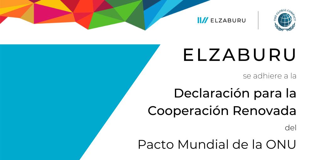 ELZABURU se adhiere a la Declaración para la Cooperación Renovada del Pacto Mundial de la ONU