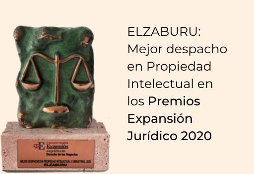 Elzaburu: mejor despacho en propiedad intelectual en los premios expansion juridico 2020