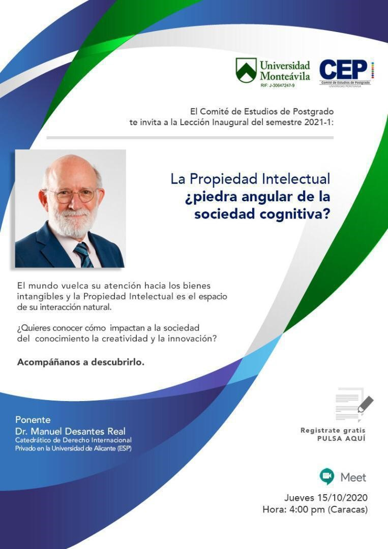 La propiedad intelectual, ¿piedra angular de la sociedad cognitiva?