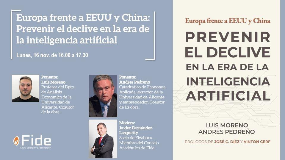 Europa frente a EEUU y China: Prevenir el declive en la era de la inteligencia artificial