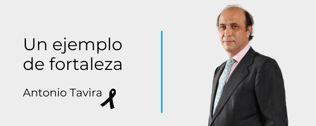 Siempre a nuestro lado. In memoriam Antonio Tavira