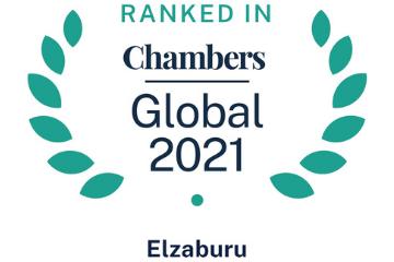 Ranked in Chambers Global 2021 Elzaburu