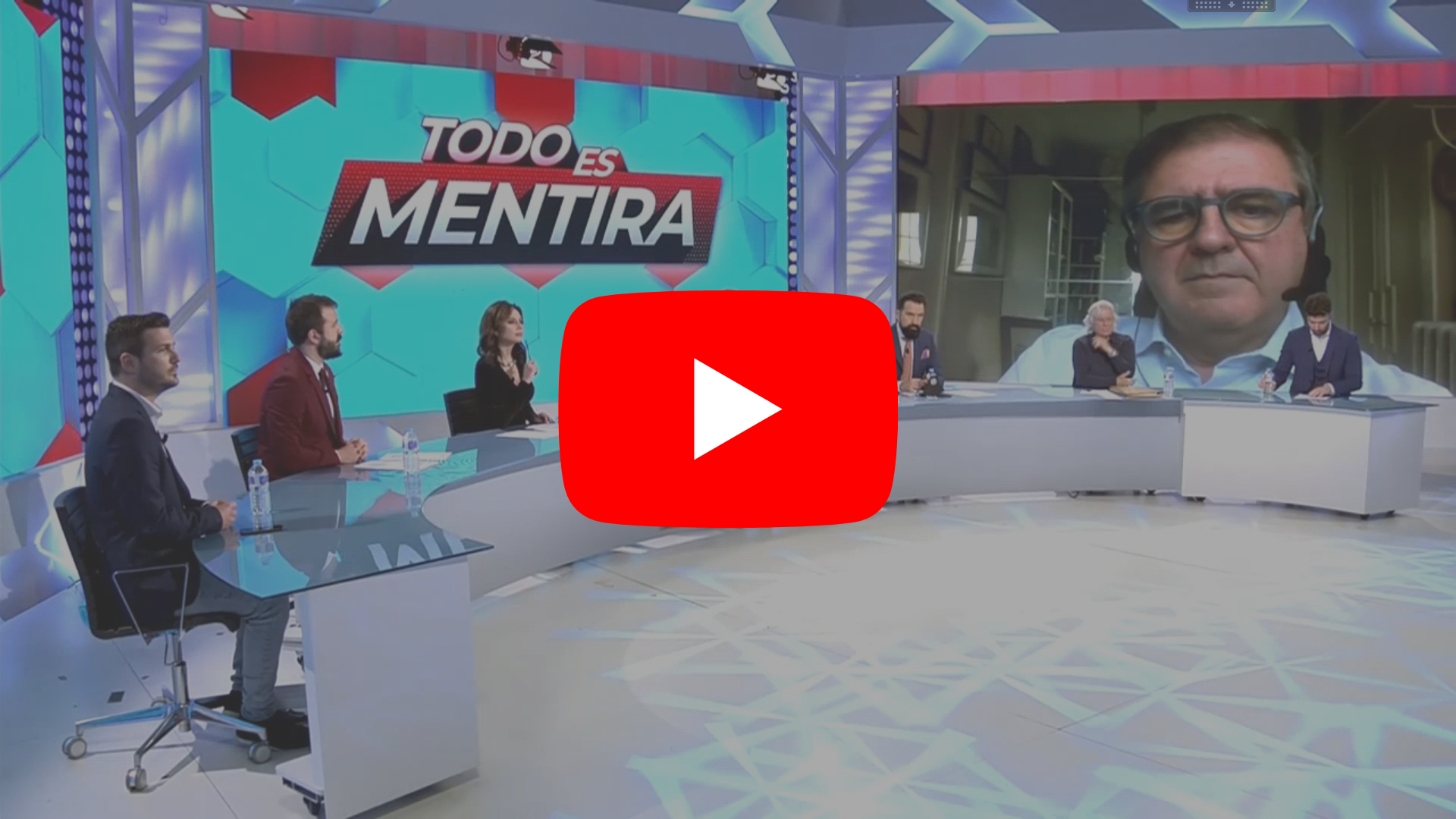 Video programa Todo es Mentira con Javier Fernández-Lasquetty