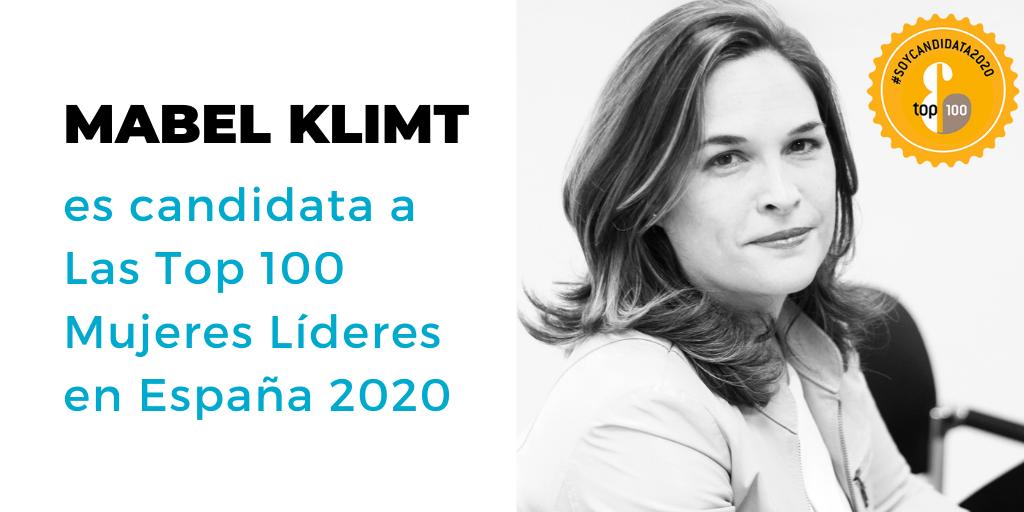 Mabel Klimt, candidata a Top 100 Mujeres Líderes