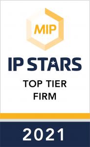 IP Stars top tier Firm 2021