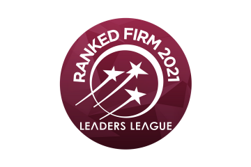 logo, ranked firm 2021, leaders league
